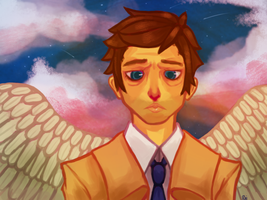 Castiel Wooh by Captain-Awesomer
