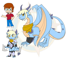Assorted Chibis - Of Man and Dragon by Dragon-FangX