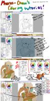 PC's Coloring Tutorial (SAI) by Pharos-Chan