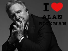 I love Alan Rickman by CrazyAnett