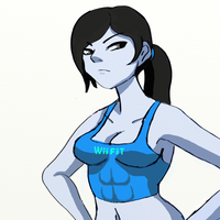 Wii Fit Trainer by xDarkSpineSonicx