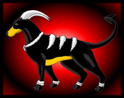 Houndoom by Shadow-Clone19