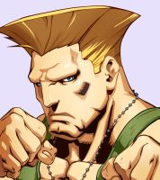 Guile HD Character Select Art by Orinknight