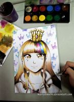 Galaco watercolors by Marryhime94