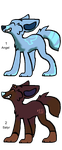 100-10 Themes! - Dog Adopts - Adopted by Feralx1