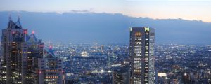 Pano from tokyo city hotel by ZOME-23