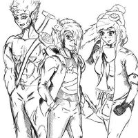 main OC's by Wolven6
