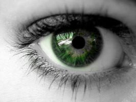 Eye of Green by deathnote1010