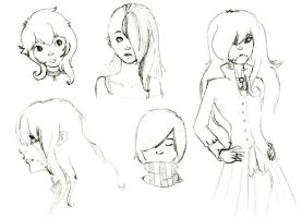 July sketches by DaSuperFantomStick