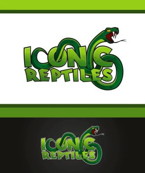 Iconic Reptiles logo by pho001boss