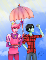 AT: Marshall Lee x Gumball by Swag-Thomas-Stroker