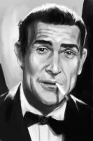 Sean Connery - 007 by stokesbook