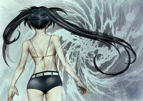 Black Rock Shooter by periwinkleimp
