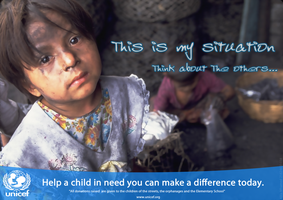 UNICEF Advertisement by alilamhamed