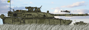 ST-47K1 Aray MBT - War Games by AC710N87