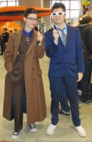 Tenth Doctor double trouble at the Expocomic 2015 by ArwendeLuhtiene