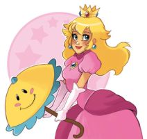 Princess Peach by Kallisto2