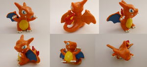 Chibi Charizard Sculpture Verion 3 by CharredPinappleTart