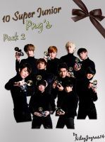Super Junior A-CHa Png's 2 by NileyJoyrus14