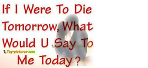 If I were to die by Forever-A-Bad-Soul