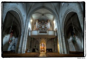 Sion Cathedral Interior VI by Bodenlos