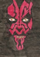 Darth Maul by ozzytheskunk