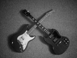 Cross Guitars by The-Worker-Bee