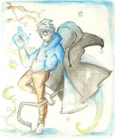 Jack frost (watercolor) by Cheapcookie