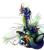 Insect dragon by Kuroi-kisin