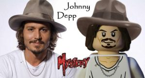 Johnny Depp Lego by MMystery92