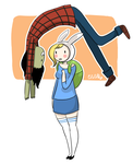 Commission : Fiona and Marshall Lee by mellamelfran