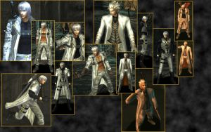 DMC White Collage by Arivain-Shadowflare