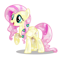 Crystal Fluttershy (2nd Edition) by InfiniteWarlock