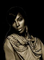 Kelly Rowland by haveacookie