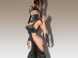 ssf4 Ibuki by uky76