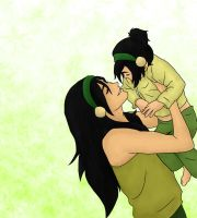Toph + Lin - Beautiful Girls by shango266