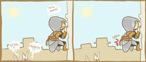 Old Ezio is old by Nichii