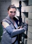 Rey (star wars) cosplay by LenaMay-Cosplay