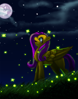 Fireflies by dreamerswork