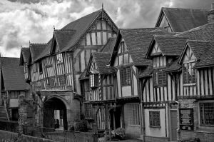 Lord Leycester Hospital Warwick by Roys-Art