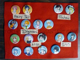 Got Buttons -- Batch 1 by ToonTwins