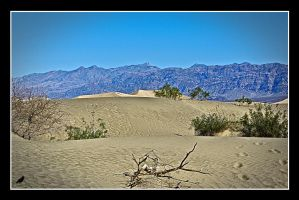 Panamint Mtns. Death Valley. USA by jennystokes