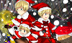 CON:APH- Merry Christmas by ciripahn