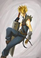 cloud strife by anotheryou