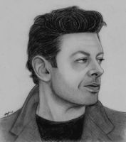 Andy Serkis by iamfergie