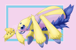 Galvantula and Joltik by StrawberryCucumber