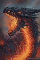 Blood of Dragons: Lavaborn by TylerWalpole