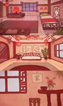 animation backgrounds by Dorinootje