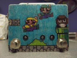8-bit Mario theme DI box by Element-Wolf24