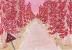 The Red Forest by awesomeyuna